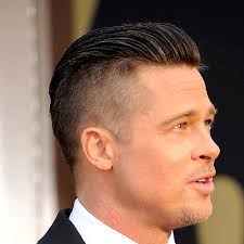 haircuts with longer sides and shorter back check out these tips to create brad pitt s newly shaved haircut