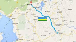 Map Of Rwanda 3 Days Rwanda Gorilla Safari Leton Safari Toursleton Safari Tours