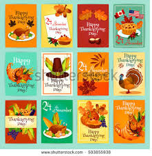 vector thanksgiving day greeting card flyer stock vector 728469973
