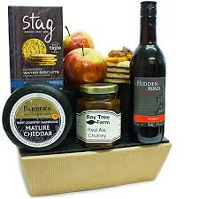 Gourmet Cheese Baskets Sherborne Cheese Hamper U0026 Red Wine Traditional Cheese Gifts
