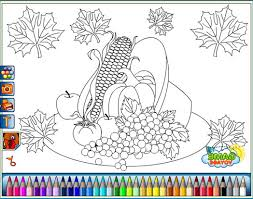 thanksgiving cornucopia coloring pages coolmerc disney princess coloring game 468613 coloring pages for