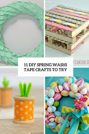 How To Use Washi Tape 11 Diy Spring Washi Tape Crafts To Try Shelterness