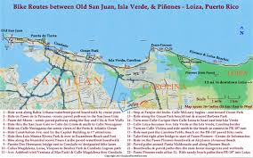 Puerto Rico Google Maps by Bicycling In San Juan Puerto Rico Routes Rentals Tours