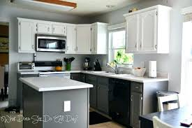 gray and white kitchens white cabinets grey walls gray walls with and white oak dark