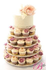wedding cake and cupcakes vintage lace lace cupcakes tower and vintage lace