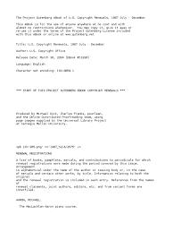 u s copyright renewals 1967 july december by u s copyright