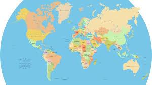 Mongolia On World Map Map 2016