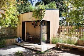 backyard room can be used as an office or even a mini home