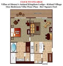 saratoga springs treehouse villas floor plan the livingdiningkitchen space at disneys old key west resort