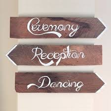 wedding signs diy 9 diy wedding signs for every wedding happywedd