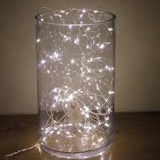 String Of Fairy Lights by Naked Wire Fairy Lights 10 15 Or 20 Meter