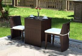 2017 new comming rattan wicker balcony bistro set factory direct