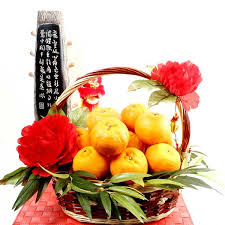 new years basket new year flower delivery singapore buy lunar new year flowers