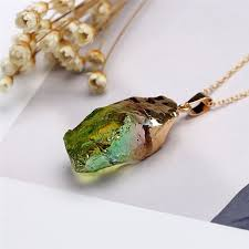 make crystal pendant necklace images Chakra rock natural stone crystal pendant necklace pricole jpg