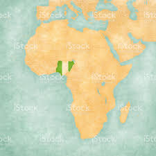 Nigeria Map Africa by Map Of Africa Nigeria Stock Vector Art 606223894 Istock