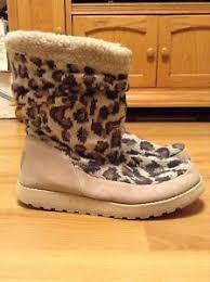 skechers womens boots size 11 skechers womens keepsakes print knit boots size 11 ebay