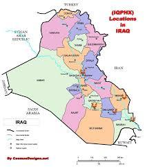 Baghdad Map Contact Iraq Phoenix Thi Qar Nasiriyah Amara Basra Samawa