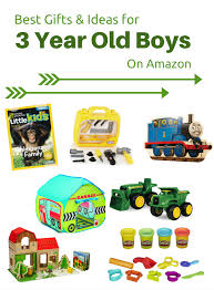 best gifts ideas for 3 year boys on
