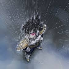 love finding fan art pictures young vegeta