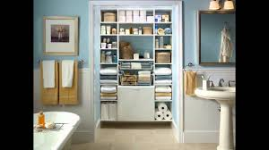 Organizing Bathroom Ideas Small Bathroom Closet Ideas Youtube