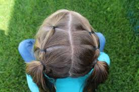 simple hairstyles with one elastic 25 girl hair styles for toddlers and tweens a girl and a glue gun