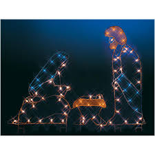 large led lighted decorations bronners