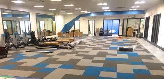 Exercise Floor Mats Over Carpet by Enchanting Gym Carpet Flooring Images Carpet Design Trends New