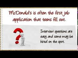 how to get a mcdonald u0027s application youtube