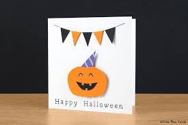 very happy halloween card crea bea cards