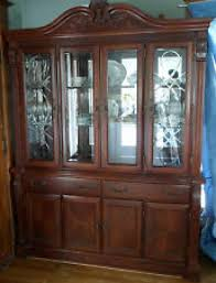 dining room set with china cabinet neo renaissance formal dining