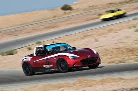 who makes mazda cars four times a racer driving every mazda mx 5 miata race car