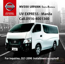 nissan urvan for sale nissan urvan nv350 new and used cars for sale philippines