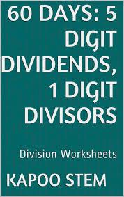 1 digit divisor worksheets 2nd grade math worksheets addition and