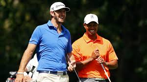 Tiger Woods U S Open 2016 Tiger Woods Congratulates Dustin Johnson For
