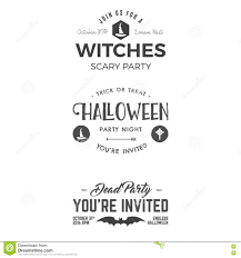 free halloween party flyer templates halloween 2016 party invitation label templates with scary symbols