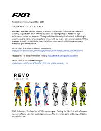 canada motocross gear introducing the fxr racing 2018 moto collection launch u2013 motocross