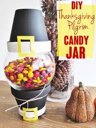 diy thanksgiving pilgrim jar candystore