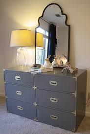 gray campaign nightstand design ideas