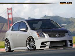 custom nissan sentra nissan sentra by matheus pk on deviantart