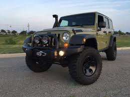 commando green jeep lifted 2013 commando green aev jkur american expedition vehicles