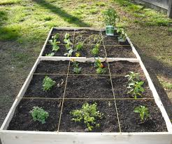 how to make an easy square foot garden 9 steps