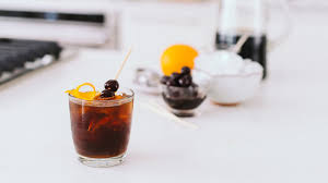 old fashioned cocktail garnish cold brew old fashioned recipe youtube