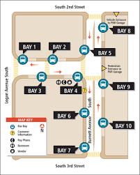 Seattle Metro Bus Routes Map by Renton Transit Center King County