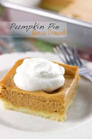 pumpkin pie for a crowd sweet as a cookie