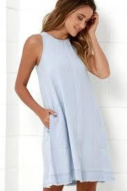 light blue shift dress charming light blue shift dress 2 cute light blue dress chambray
