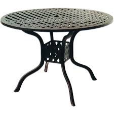 cast aluminum dining table darlee series 30 42 inch cast aluminum patio dining table