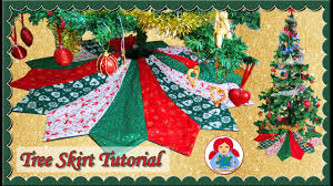 diy holiday tree skirt free pattern u2022 sami doll tutorials