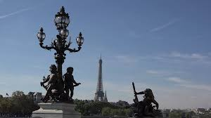 Beautiful Eiffel Tower by Beautiful Statues And Eiffel Tower In Background Art Sights Cape