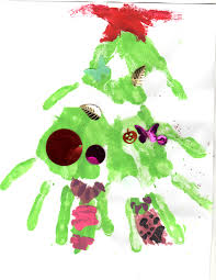 christmas hand print crafts chasing supermom
