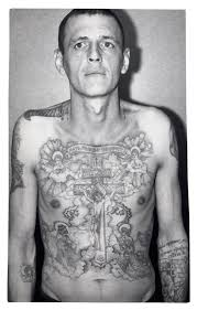 fascinating portraits of criminals covered in prison